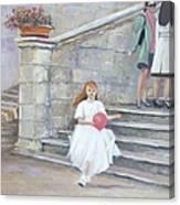 The San Gimignano Wedding Party Canvas Print