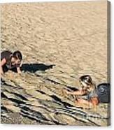 The Sand Land Canvas Print