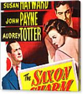 The Saxon Charm, Us Poster, From Left Canvas Print