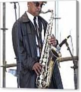 The Saxophone Player Canvas Print