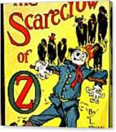 The Scarecrow Of Oz Canvas Print