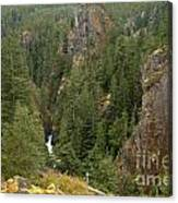 The Scenic Cheakamus River Gorge Canvas Print