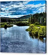 The Scenic Moose River Canvas Print