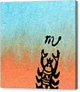 The Scorpion Canvas Print
