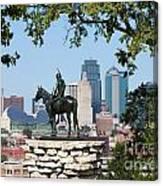 The Scout Kansas City Missouri Canvas Print