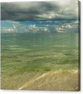 The Sea And The Sky Canvas Print