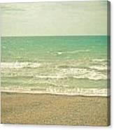 The Sea The Sea Canvas Print