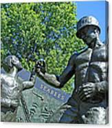 The Seabees At Arlington Canvas Print