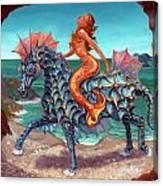 The Seamaid's Fantasy Canvas Print
