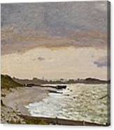The Seashore At Sainte Adresse Canvas Print