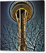 The Seattle Space Needle Iv Canvas Print
