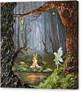 The Secret Forest Canvas Print