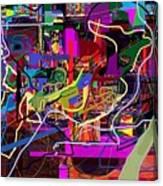 The Secret Of The Tzimzum 2 Heh Emunah Bc2 Canvas Print