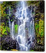 The Seduction Of Water Canvas Print