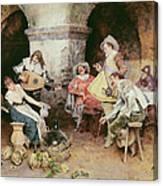 The Serenade Canvas Print