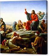 The Sermon On The Mount  Canvas Print