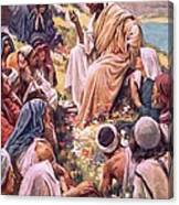 The Sermon On The Mount Canvas Print