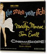 The Seven Year Itch Canvas Print