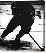 The Shadows Of Hockey Canvas Print