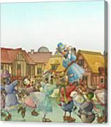 The Shaky Knight 06 Canvas Print