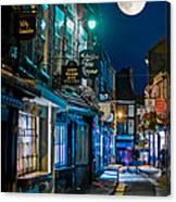The Shambles Street In York U.k Hdr Canvas Print