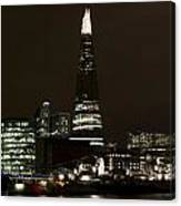 The Shard And Southbank London Canvas Print