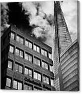 The Shard From Tooley Street Canvas Print