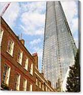The Shard In London Canvas Print