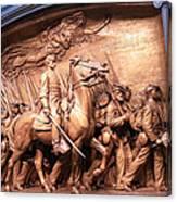 Saint Gaudens' The Shaw Memorial Canvas Print