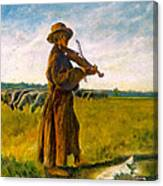 The Shepherd Canvas Print