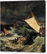 The Shipwreck Canvas Print