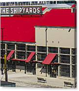 The Shipyards In Vancouver Canvas Print