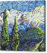 The Shores Of Dreams Canvas Print