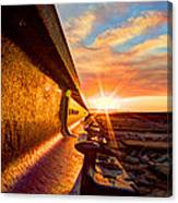 The Side Of The Rail Canvas Print