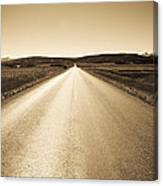 The Side Road 2 Canvas Print