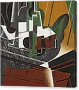 The Sideboard, 1917 Oil On Plywood Canvas Print