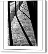 The Sidewalk Poster Canvas Print