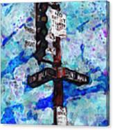 The Signal Canvas Print