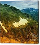 The Silent Mountains Canvas Print