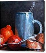 The Silver Cup Canvas Print