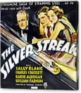 The Silver Streak, Us Poster Art Canvas Print