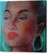 The Singer Sade Canvas Print