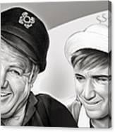 The Skipper And Gilligan Canvas Print