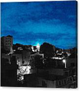 The Sky And The Night Canvas Print