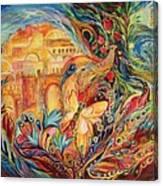 The Sky Of Eternal City Canvas Print