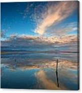 The Sky Whispered Canvas Print