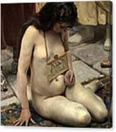 A Slave For Sale Canvas Print