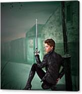 The Slayer Of The Dock Canvas Print