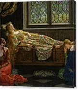 The Sleeping Beauty Canvas Print