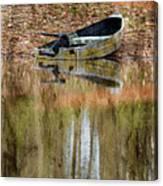 The Small Boat Photoart II Canvas Print